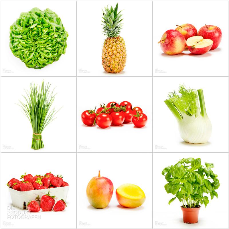 Produktfotografie Gemüse