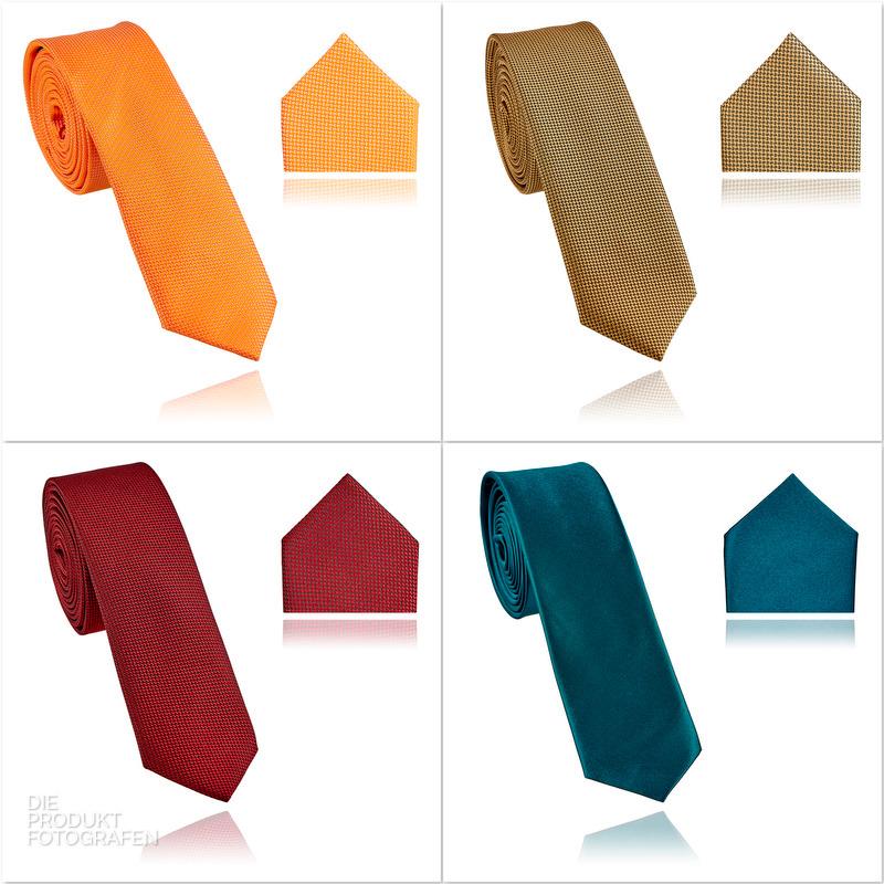 Produktfotografie Krawatten