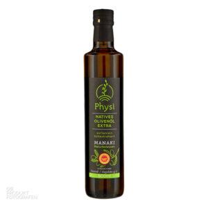 Produktfotografie Olivenöl