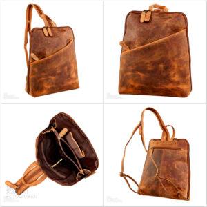 Produktfotografie Lederrucksack